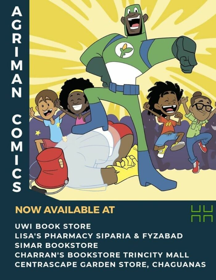 Wondering where to pick up your AGRIMAN Comics?⬇️⬇️👨🏿‍🌾👩🏿‍🌾📗 Go get them now at the following locations listed in the graphic below ⬇️⬇️ Tell a friend to tell a friend, buy something purposeful and local for your child, cousin, nephew/neice, brother /sister to read and be inspired. When you buy 1 comic book you are buying into a sustainable and food secure future for our youth.  _____________________________________ #AGRIman #SupportLocal #AGRImanAGventures #futurefeeders #PhotosyntheSista #9BX2050