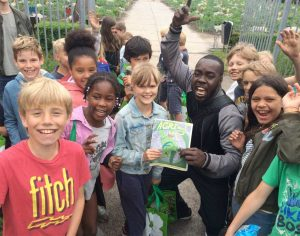WhyFarm visits a School Garden in the city of Amsterdam
